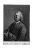 Johann August Ernesti Giclée-tryk af Anton Graff