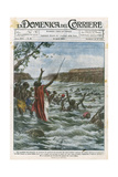 Miracle, Zulu Chief Giclee Print by Achille Beltrame