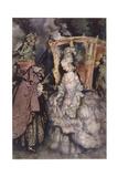 Rackham, Cinderella Giclee Print by Arthur Rackham