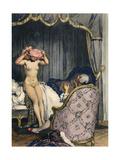 Casanova, Leroux, Baret Giclee Print by Auguste Leroux