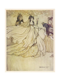 Aschenputtel Giclee Print by Arthur Rackham