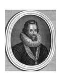 James I Giclée-Druck von Antony Van Dyck