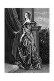 Lucy Countess Carlisle Giclee Print by Antony Van Dyck
