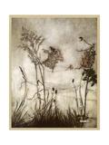 Fairies, Kensington Gdns Giclée-tryk af Arthur Rackham