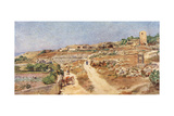Sicily, Siragusa 1911 Giclee Print by Alberto Pisa