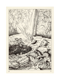 Pit and the Pendulum Giclee Print by Arthur Rackham