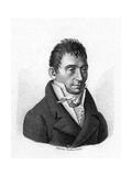 J J a de Courvoisier Giclee Print by Ambroise Tardieu