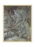 Woodnymphs Giclee Print by Arthur Rackham