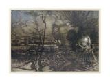Shakespeare, Puck Giclee Print by Arthur Rackham