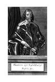 Francis 4th Earl Bedford Giclée-Druck von Antony Van Dyck