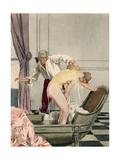 Casanova, Leroux, Javetta Giclee Print by Auguste Leroux