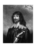 Second Marquess Huntly Giclée-Druck von Antony Van Dyck