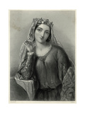 Isabella of Angouleme Giclee Print by B. Eyles