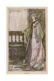 Cordelia in King Lear Giclee Print by Arthur Rackham