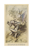 Shakespeare, the Tempest Giclee Print by Arthur Rackham