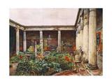 Peristyle, Casa Dei Vetti Giclee Print by Alberto Pisa