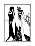 Play, Wilde, Beardsley Premium Giclee Print by Aubrey Beardsley