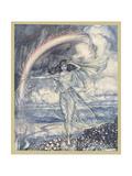 Iris, a Nymph Giclee Print by Arthur Rackham