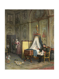Napoleon as Father Giclee Print by Albert Pierre Dawant
