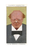 Winston Churchill - British Politician Giclee Print by Alick P.f. Ritchie