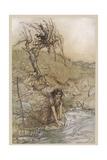 Shakespeare: Hermia Giclee Print by Arthur Rackham