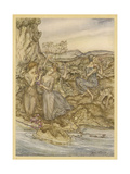 Folklore, Nymphs Giclee Print by Arthur Rackham