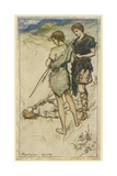 Shakespeare, Cymbeline Giclee Print by Arthur Rackham