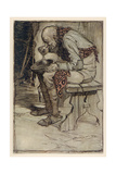 The Little Peasant Giclee Print by Arthur Rackham