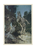 Midsummer Nights Dream Premium Giclee Print by Arthur Rackham