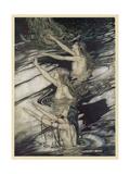 Rhinemaidens Giclee Print by Arthur Rackham