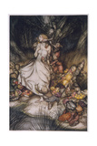 Illustration to Goblin Market Giclee Print by Arthur Rackham