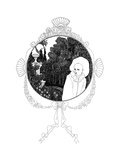 The Pierrot of the Minute Premium Giclee Print by Aubrey Beardsley