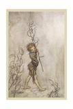 Shakespeare: Puck, 1908 Giclee Print by Arthur Rackham
