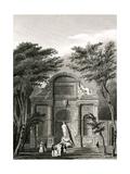 Paris, France - Chateau D'Eau, Jardin Du Luxembourg Giclee Print by B. Winkles