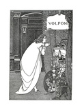 Volpone Premium Giclee Print by Aubrey Beardsley
