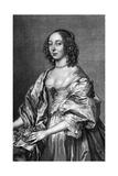 Rachel Ctss Middlesex Giclée-Druck von Antony Van Dyck
