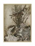 Dancing Giclee Print by Arthur Rackham