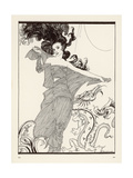 Wild Haired Woman Giclee Print by Arthur Rackham