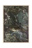 Shakespeare, Titania Giclee Print by Arthur Rackham