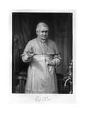 Pius IX, Blessing Giclee Print by Alonzo Chappel
