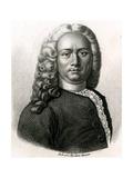 Henri Francois Le Dran Giclee Print by Ambroise Tardieu