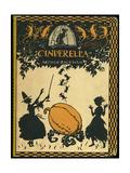 Askepott Giclée-trykk av Arthur Rackham