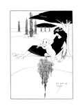 The Kiss of Judas Premium Giclee Print by Aubrey Beardsley