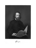 Alfred Tennyson Giclee Print by Alonzo Chappel