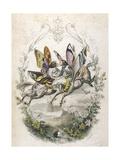 Lepidoptera Ride, Kiss Giclée-Druck von Amedee Varin