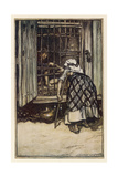 Hansel and Gretel Giclee Print by Arthur Rackham
