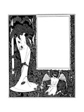 Salome Contents Page Giclee Print by Aubrey Beardsley