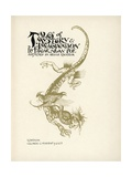 Tales of Mystery and Imagination Giclee Print by Arthur Rackham