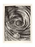A Descent into Maelstrom Giclee Print by Arthur Rackham