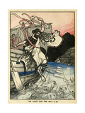 Arion of Methymna Leaping into the Sea Giclee Print by Arthur Rackham